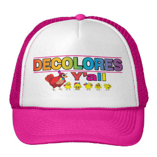 DECOLORES Y'all Trucker Hat
