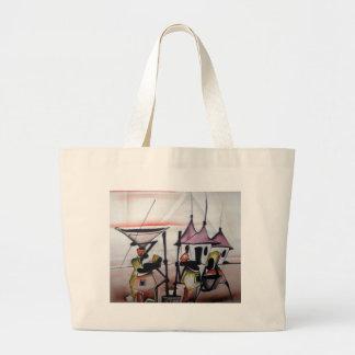 Décor africain et usage sac en toile