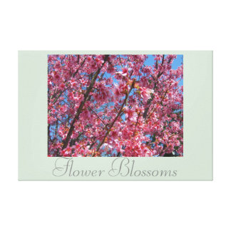 Decor Artwork Flowers Flower Blossoms CricketDiane Canvas Print