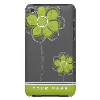 Décor floral à la mode coque iPod Case-Mate