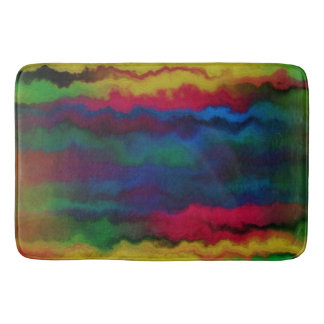decor,modern,stylish,bathmat,Water Color Bath Mat