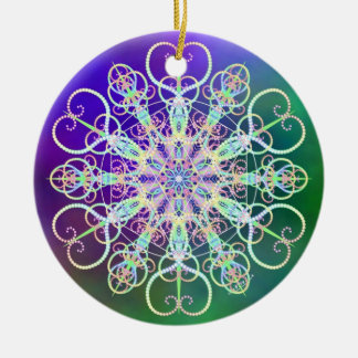 Decorate with Starry Light Ceramic Ornament