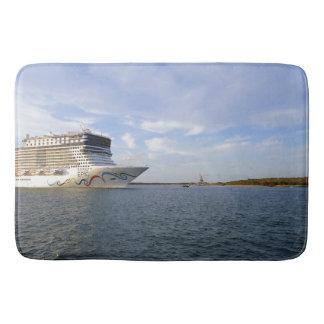 Decorated Cruise Ship Bow Bath Mat