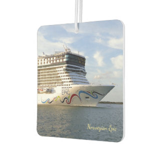 Decorated Cruise Ship Bow Car Air Freshener