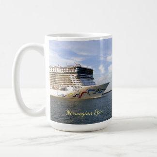 Decorated Cruise Ship Bow Coffee Mug