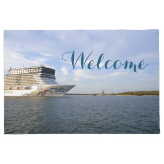 Decorated Cruise Ship Bow Doormat