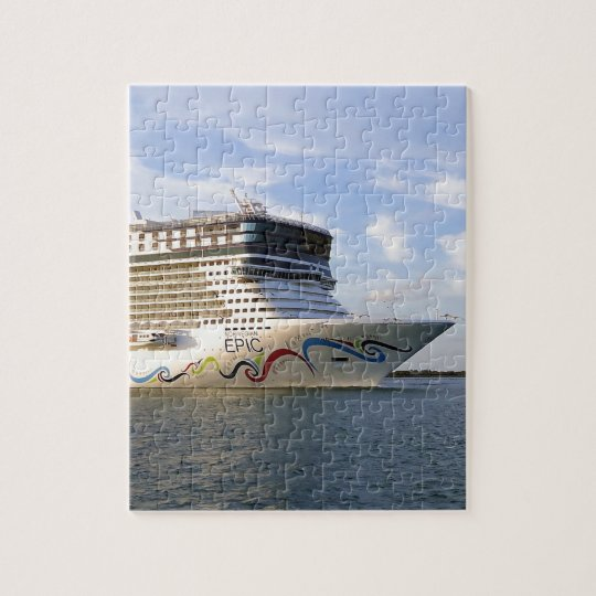 Decorated Cruise Ship Bow Jigsaw Puzzle