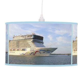 Decorated Cruise Ship Bow Pendant Lamp