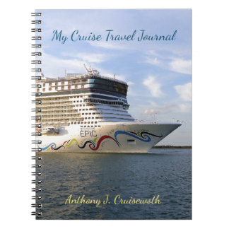 Decorated Cruise Ship Bow Personalized Journal