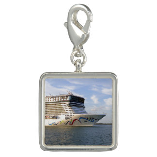 Decorated Cruise Ship Bow Photo Charms