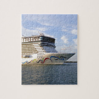 Decorated Cruise Ship Bow Puzzle