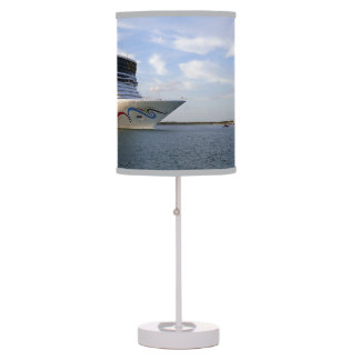 Decorated Cruise Ship Bow Table Lamp