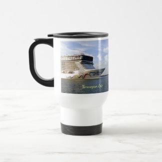Decorated Cruise Ship Bow Travel Mug