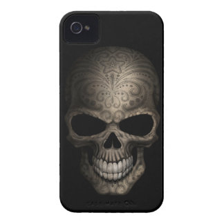 Decorated Dark Skull iPhone 4 Covers
