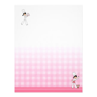 Decorated Letterhead for Recipe Binders #2