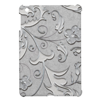 Decorated Silver Scolls iPad Mini Cases