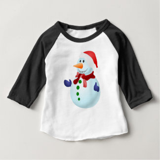 Decorated Snowman Baby T-Shirt