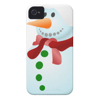 Decorated Snowman Case-Mate iPhone 4 Cases