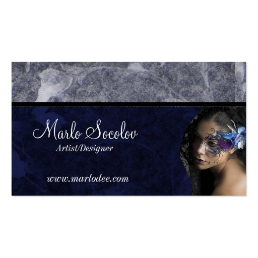Decorated tattoo woman business cards zazzle for Business card size tattoos