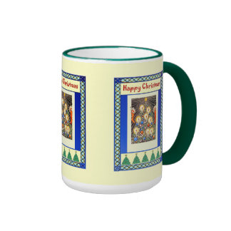 Decorating with candles coffee mug