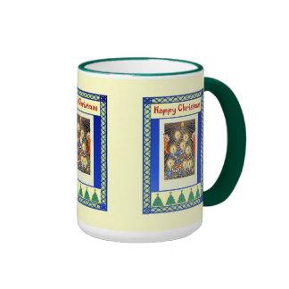 Decorating with candles ringer mug