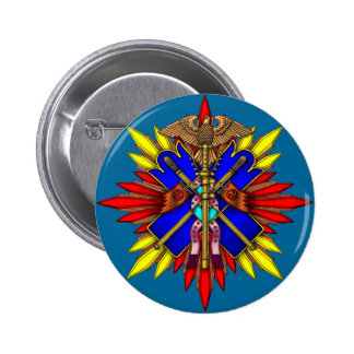 Decoration 2 Inch Round Button