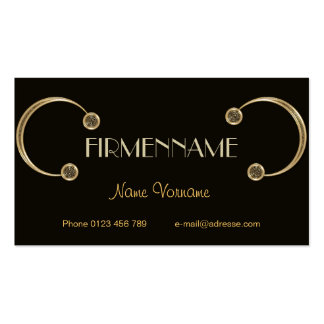 Decoration Business Card Template
