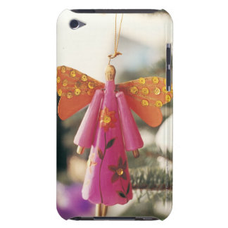 Décoration d'ange pendant d'un arbre de Noël Étui iPod Touch