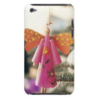 Décoration d'ange pendant d'un arbre de Noël Coque Case-Mate iPod Touch
