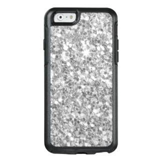 Decoration Gray And White Glitter Texture OtterBox iPhone 6/6s Case