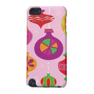 Décoration nombreuse de Noël illustrée dans le dif Coque iPod Touch 5G