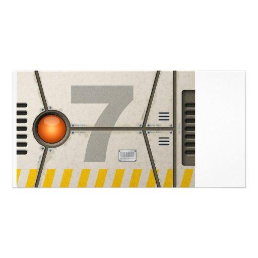 Decoration sci-fi customized photo card