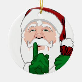 Décorations de Noël de Père Noël d'ornement du