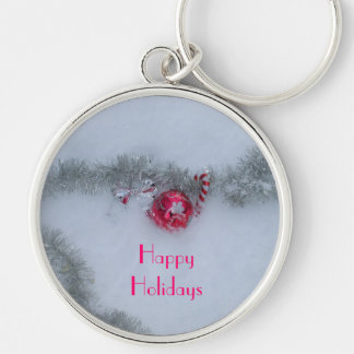 Decorations in Snow Keychain