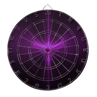 Decorative abstract background glowing dartboard