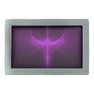 Decorative abstract background glowing rectangular belt buckles