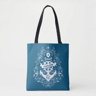 Decorative Anchor custom monogram bags