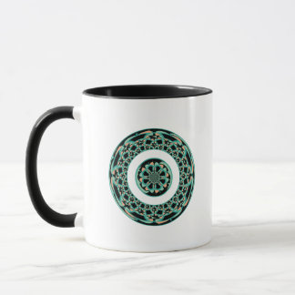 Decorative art mug