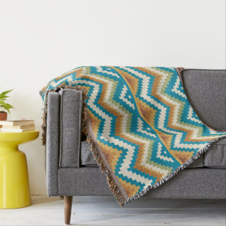 Decorative Aztec. Ethnic. Tribal. Throw Blanket