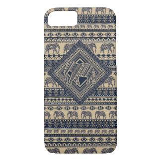 Decorative Aztec With Elephant iPhone 7 Case