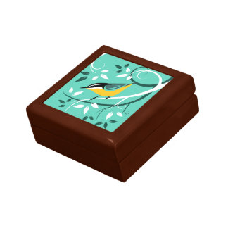 Decorative Bird Art Gift Box