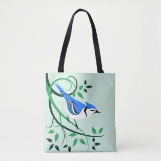 Decorative Blue Jay Bags