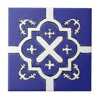 Decorative Blue Spanish Style tile