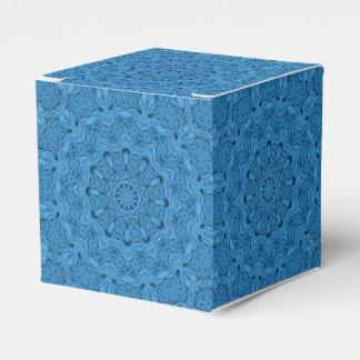 Decorative Blue Vintage Classic 2x2 Favor Box