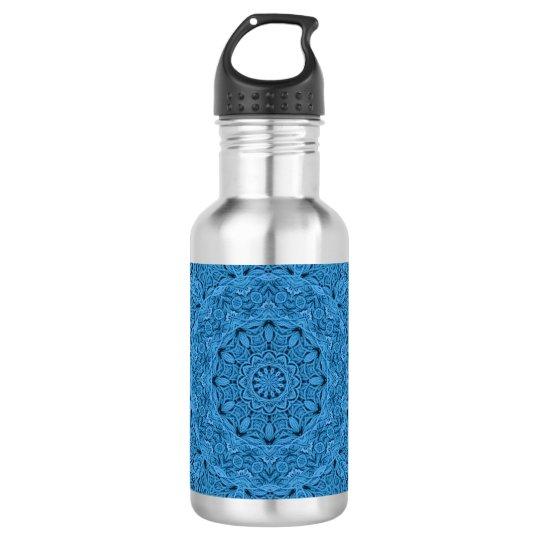 Decorative Blue Vintage Colourful Water Bottles