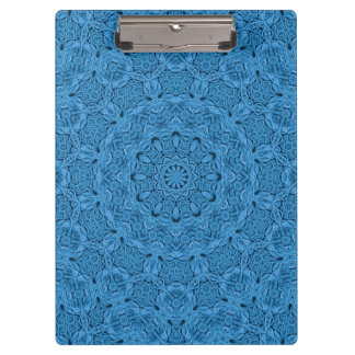 Decorative Blue Vintage Kaleidoscope    Clipboard