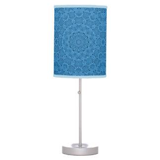 Decorative Blue Vintage Kaleidoscope    Table Lamp