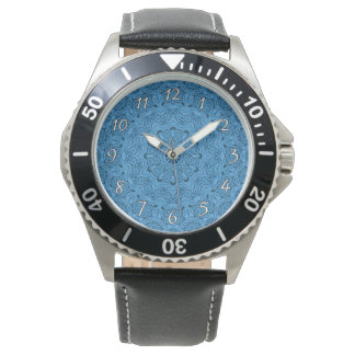 Decorative Blue Vintage   Vintage Mens Watch