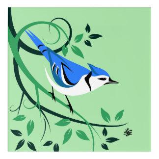 Decorative Bluejay Art