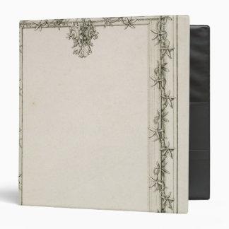 Decorative border, 1809 binder